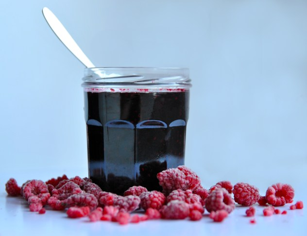 Raspberry & Blueberry Queen Jam recipe by Wind from the North
