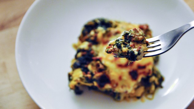 Traditional Finnish Dishes - Spinach Deer Lasagne recipe