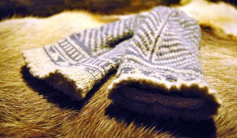 lapaset, traditional Finnish mittens