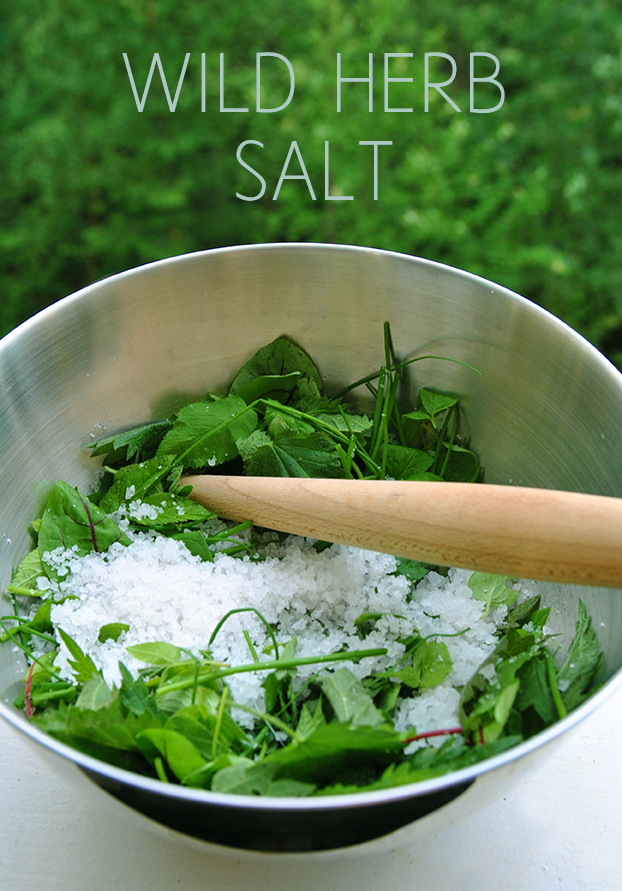 WILD HERB SALT RECIPE Wind from the North