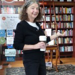 Julie Welcomes Guests to New Bo Books