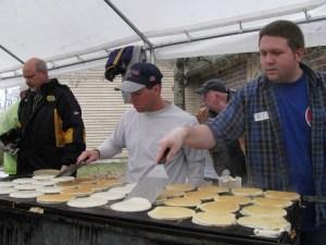Serving Up Pancakes