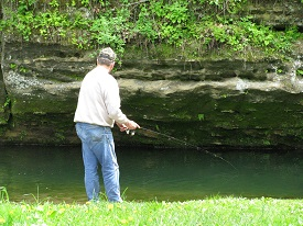 Fishing Little Paint Creek