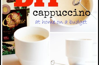 DIY cappucino on a budget and the 1 tool you need to make it all happen
