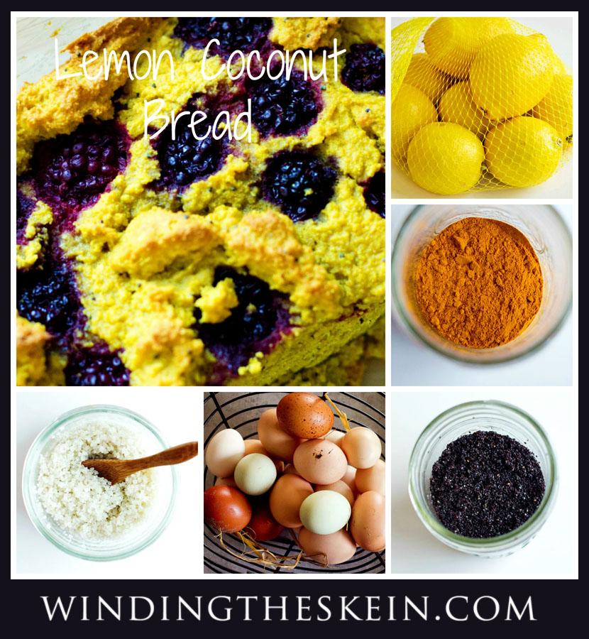 paleo lemon coconut bread recipe, turmeric benefIts 3