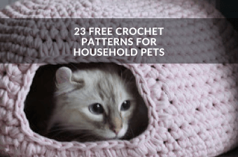 23 Free Crochet Patterns for Household Pets