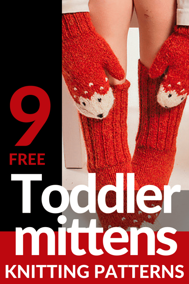 9 Free Toddler Mitten Knitting Patterns Winding The Skein