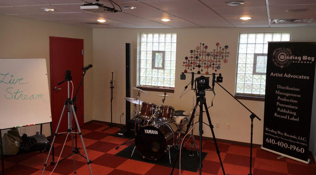 Main Lobby of Winding Way Records