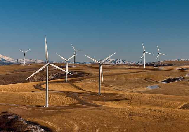 A File Photo of Wind Farm