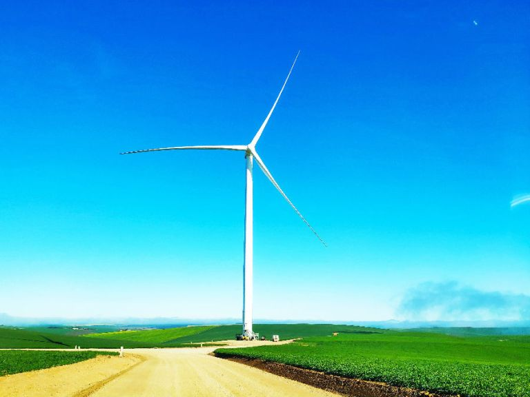 Goldwind South Africa Excelsior Project's First Wind Turbine Gets Grid Connection