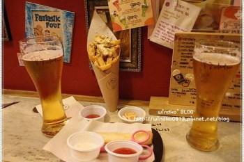 ∥韓國首爾∥ 合井/弘大站食記:峰九啤酒(봉구비어)- 來個生啤薯條續攤~