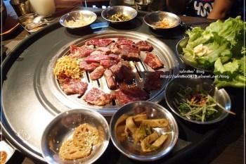 食記∥ 台中西屯。笨豬跳韓式燒肉 Bungy Jump Korean BBQ - 汽油桶韓國烤肉(近秋紅谷廣場)