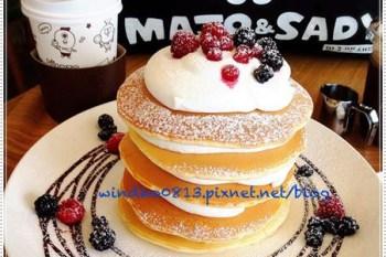 ∥韓國首爾∥ 東大門食記:CAFE MAJO&SADY - 少女心大爆炸超可愛KakaoTalk主題咖啡廳,卡哇伊娃娃陪妳吃五層鬆餅!
