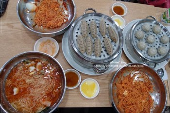 釜山食記∥ 釜山站:麵博士 면박사 - 水冷麵、冷拌麵、韓國蒸餃,24小時營業