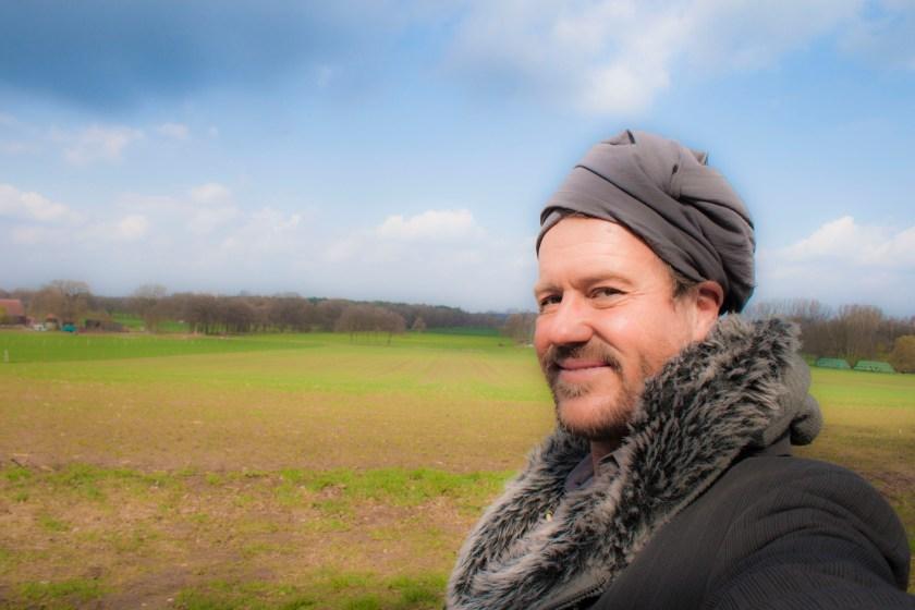 Harald Ganswindt auf dem Stelinger Berg