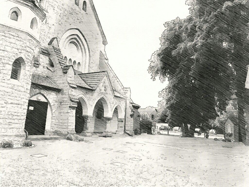 drittes Ziel: eine Kirche