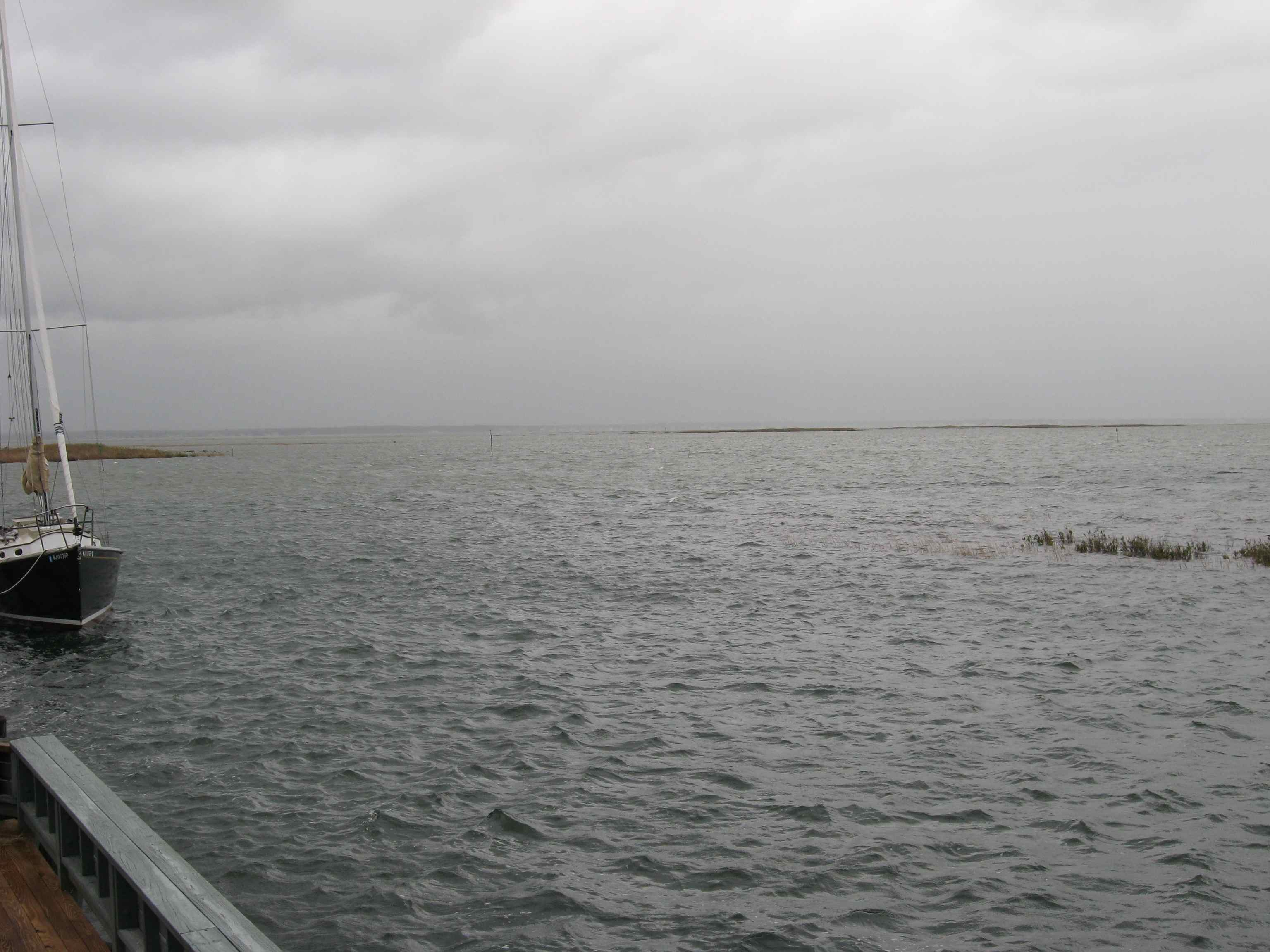 flooded point