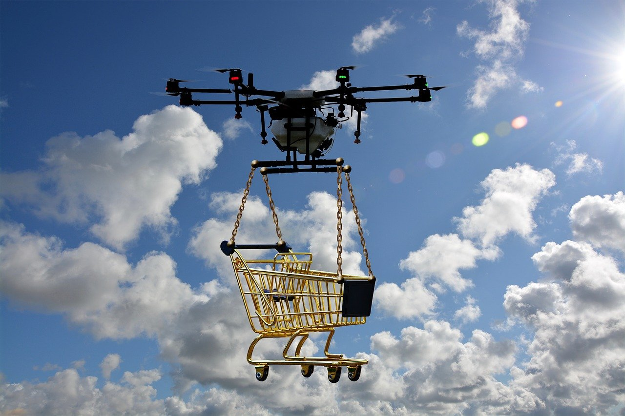 WE DO NOT NEED TO COOK ANYMORE! DRONE DELIVERY, PLEASE.