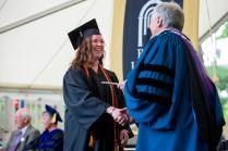 Cassey Wyatt earned a Bachelor of Arts in music from Brenau University's Women's College.
