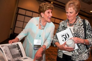 Alumnae of the Women's College class of 1965 celebrating their 50th anniversary.