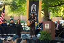 Bonner Black performs during the 2015 Brenau Women's College Commencement.