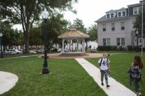 Redevelopment of the Brenau campus greenspace will continue throughout the next 12 to 15 months.