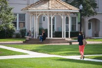 A $200,000 redevelopment project is bringing numerous upgrades to the campus greenspace.