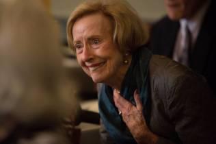 Lynda Saussy, WC '61, at the 24 Karat Gold Club & Golden Roses Tea on Friday, April 15, 2016, in Gainesville, Ga. (AJ Reynolds/Brenau University)