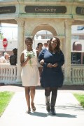 Simone LayDericka Amoni Lewis, sophomore class representative, escorted by her mother, Melissa Washington. 2016 Alumnae Reunion Weekend
