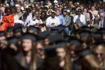 Family, friends and supporters watch The Women's College Commencement on Friday, May 6, 2016, in Gainesville, Ga. (AJ Reynolds/Brenau University)