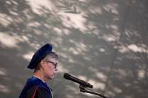 Provost Nancy Krippel speaks during The Women's College commencement on Friday, May 6, 2016, in Gainesville, Ga. (AJ Reynolds/Brenau University)