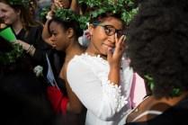 Amari Banks, a rising senior, celebrates her last Class Day as an underclassman. (AJ Reynolds/Brenau University)