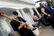 Thunder Gypsy performs at the Reunion on the Lawn. (AJ Reynolds/Brenau University)