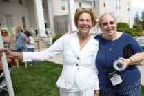 Cynthia Burgamy Rollosson and Nancy Rogers Reynolds (AJ Reynolds/Brenau University)