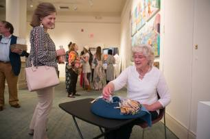 The Brenau Collaborative art show during Alumnae Reunion Weekend & May Day at Brenau University Saturday, April 14, 2018, in Gainesville, Ga. Photo by Jason Getz / Brenau University