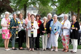 Alumnae from the Class of 1969.