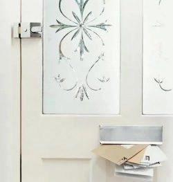 Decorative Window Film Mimics the Look of Etched Glass