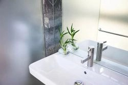Shower Door Privacy With Frosted Window Film
