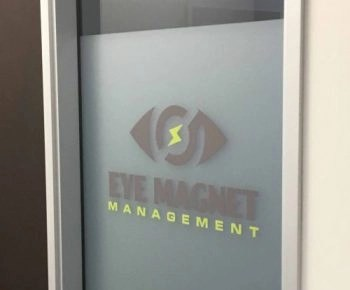 Decorative Glass Films for Company Branding