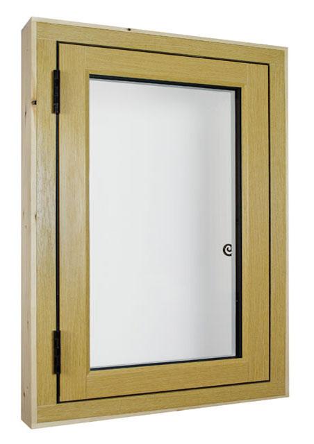 Flush fitting sash casement window