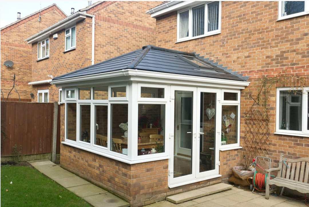 Solid roof conservatories available now on the Isle of Man