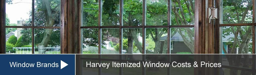 harvey windows price cost reviews