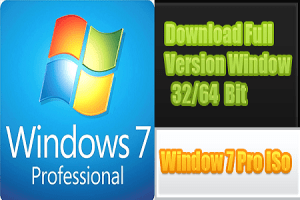 Windows 7 Professional ISO Full Version Free Download 2021 [32-64Bit]