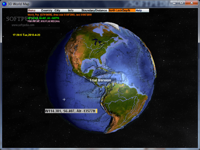 Download 3D World Map 2 1