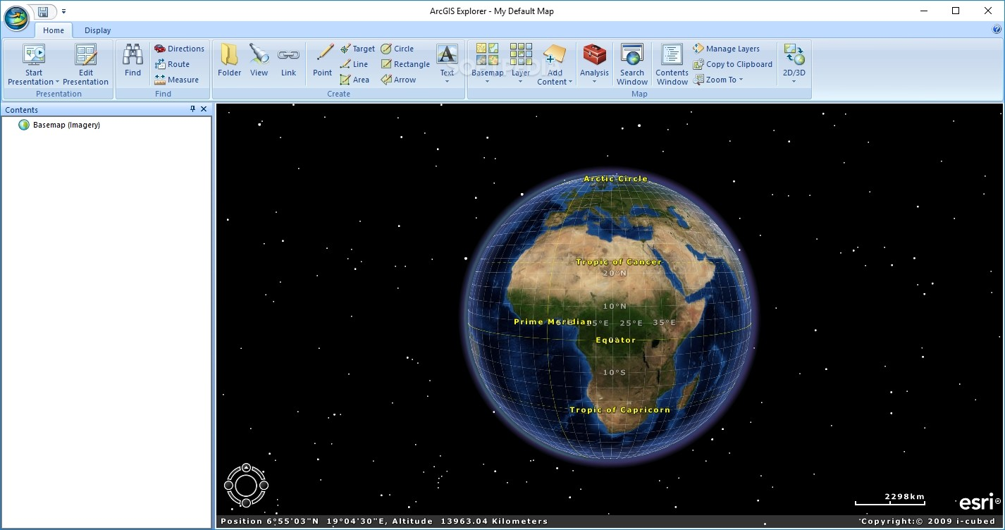 Download ArcGIS Explorer 2 0 0 Build 3400