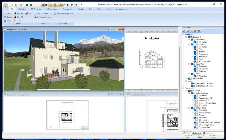 Download Ashampoo Home Design 5.0.0