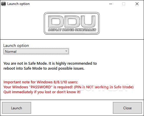 Display Driver Uninstaller 18.0.1.5