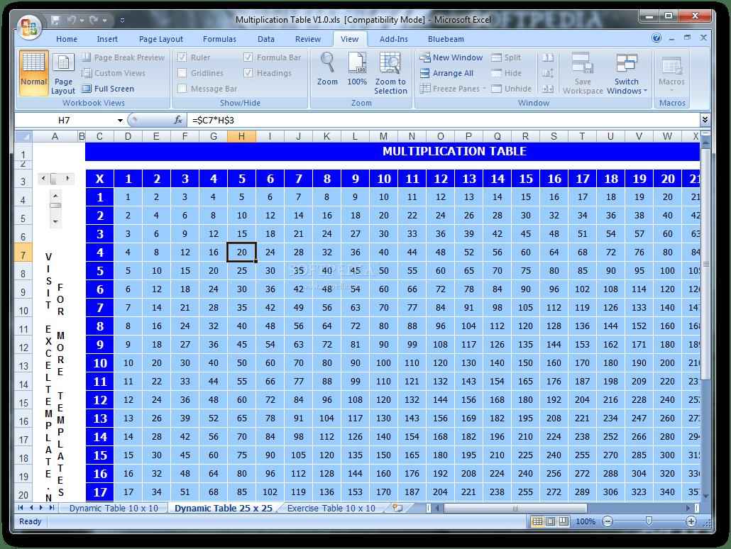 64 Info Multiplication Table Worksheet Hd Printable