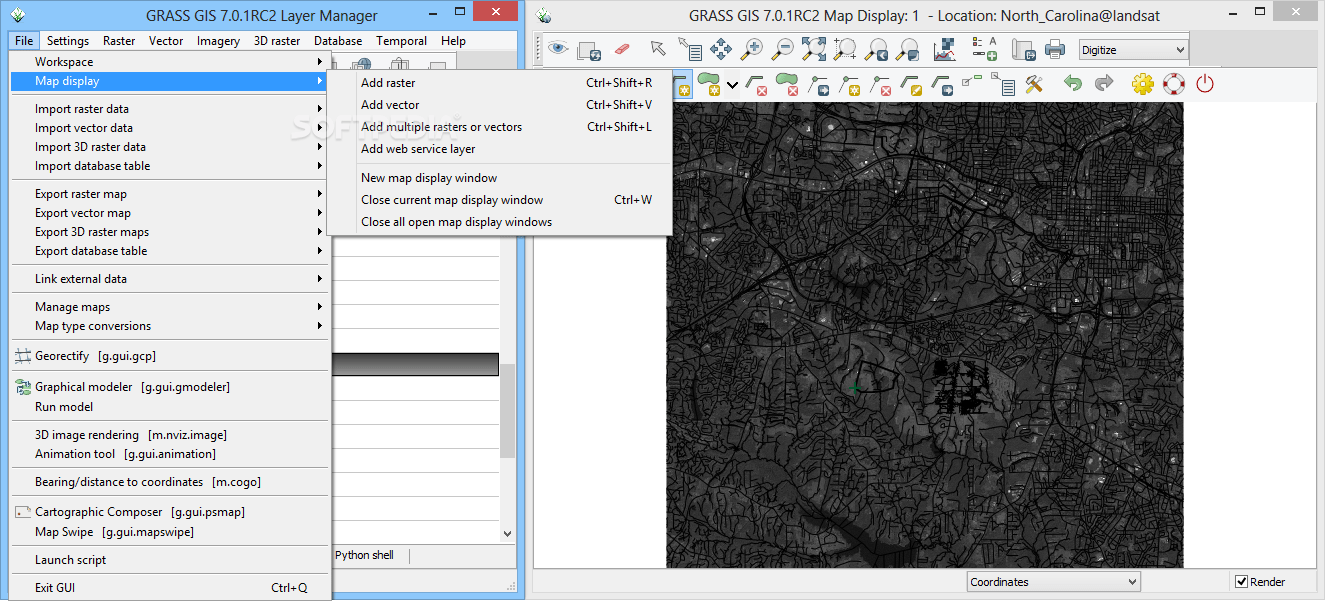 Download GRASS GIS 7 4 1 1