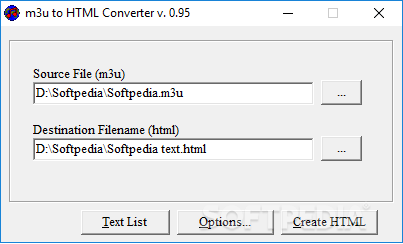 Download M3U To HTML Converter 0.9.5.1